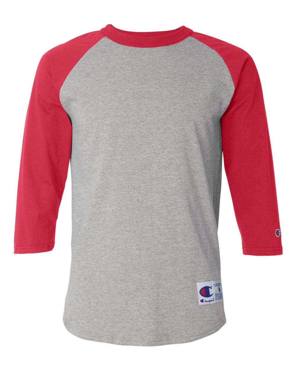 34e4bf17acb597 Champion T137 - Raglan Baseball T-Shirt | Needen USA