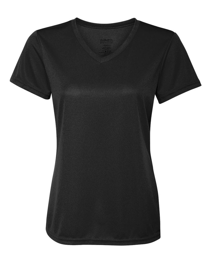 ff55f33dfaab Augusta Sportswear 1790 - Ladies' V-Neck Wicking T-Shirt | Needen USA