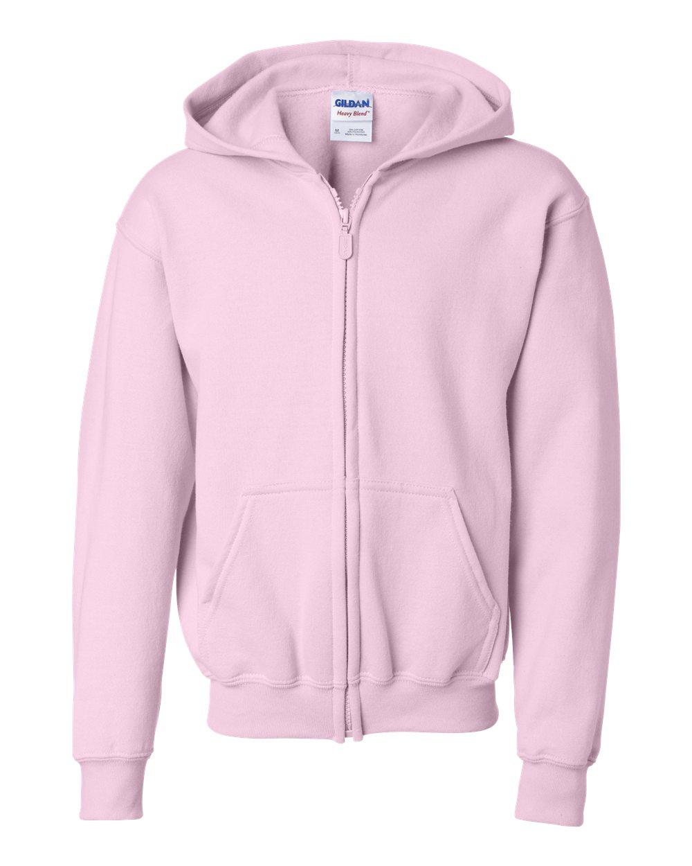 3d37a666 Gildan 18600B - Heavy Blend™ Youth Full-Zip Hooded Sweatshirt | Needen