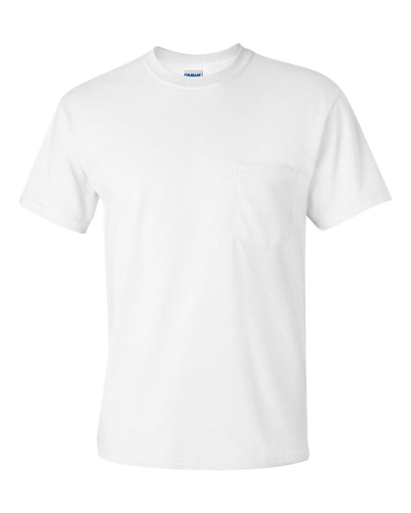 Gildan 2300 Ultra Cotton T Shirt With A Pocket