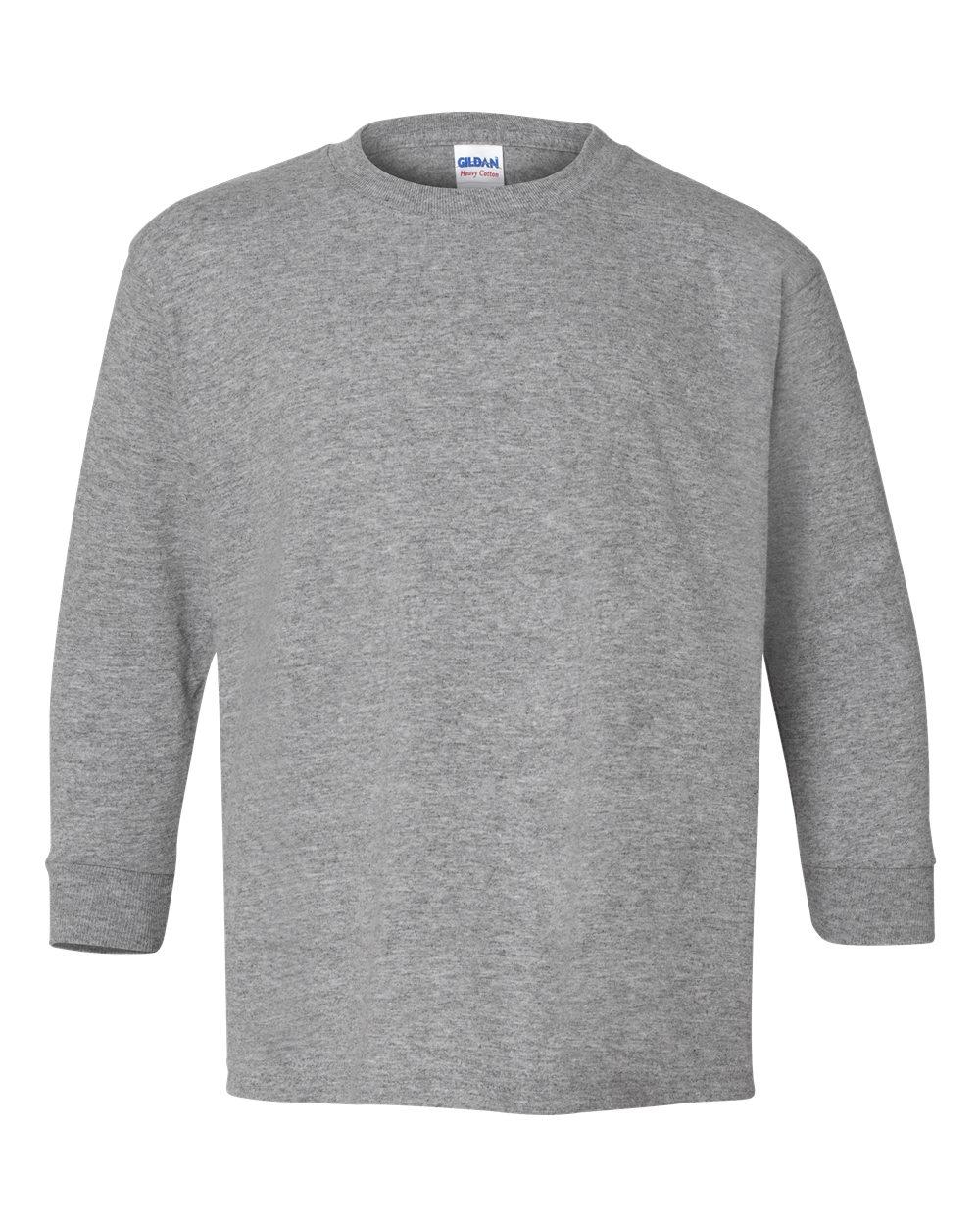 408b4556a54 Gildan 5400B - Youth Heavy Cotton Long Sleeve T-Shirt