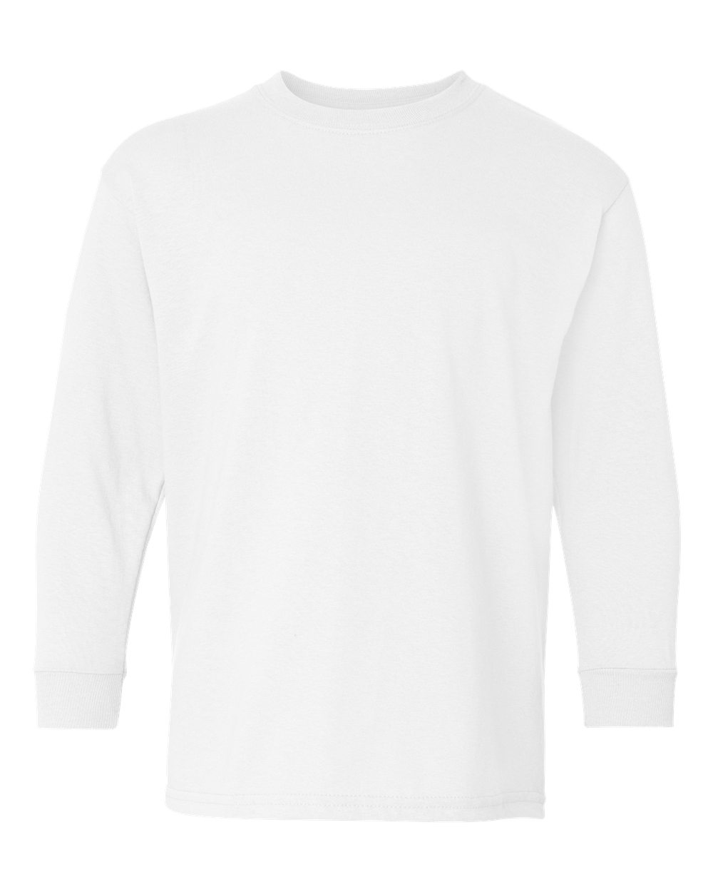 51edea45 Gildan 5400B - Youth Heavy Cotton Long Sleeve T-Shirt | Needen USA