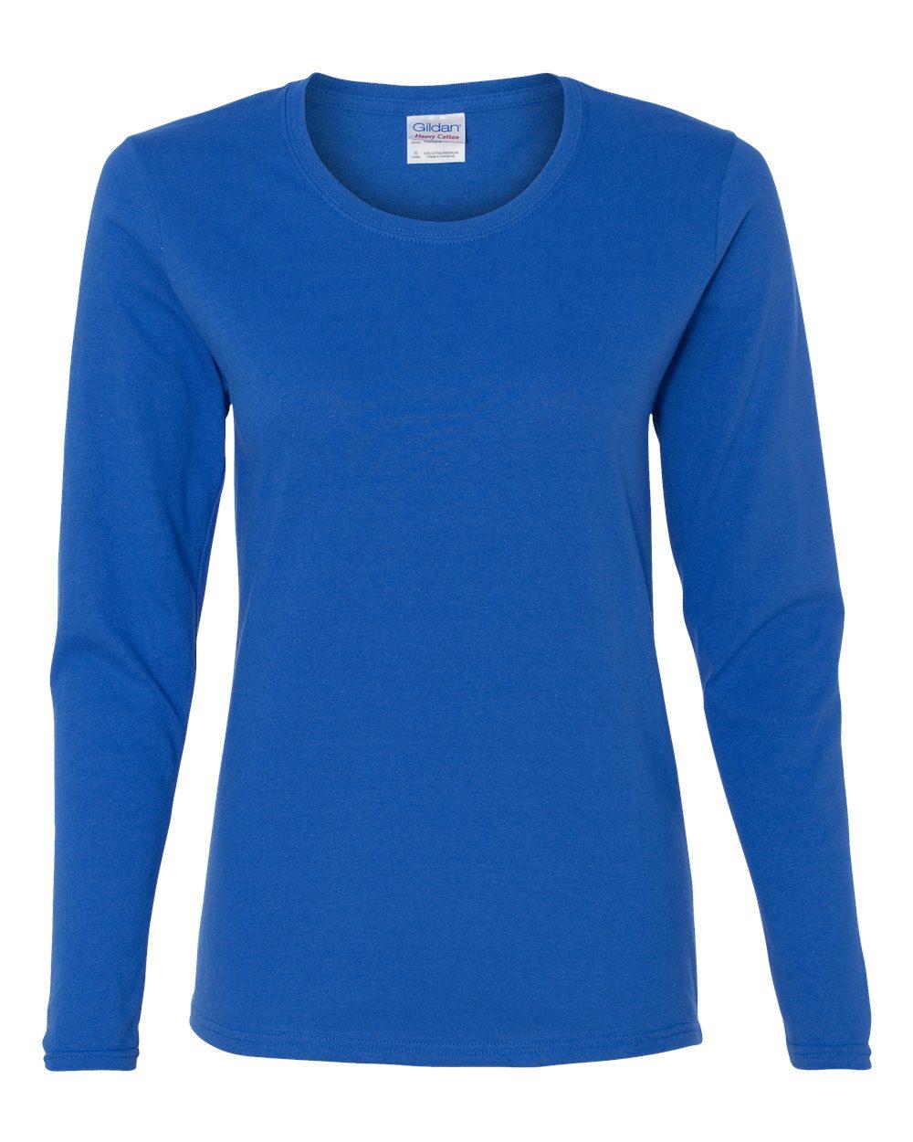 Gildan 5400L - Heavy Cotton Missy Fit Long Sleeve T-Shirt  21f3929994
