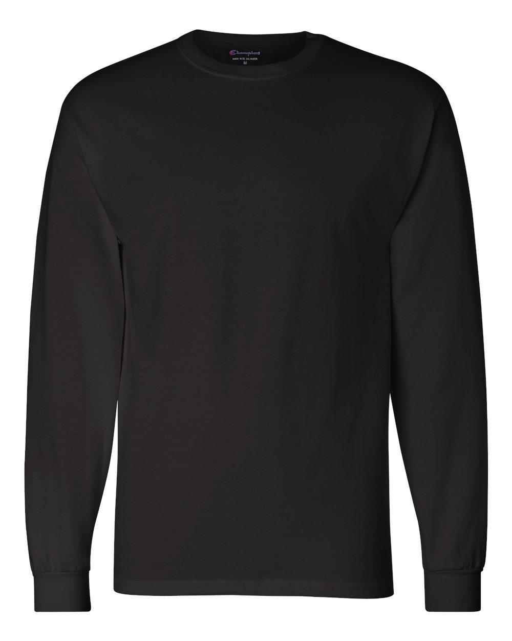b5af27c7702d Champion CC8C - Long Sleeve Tagless T-Shirt | Needen USA