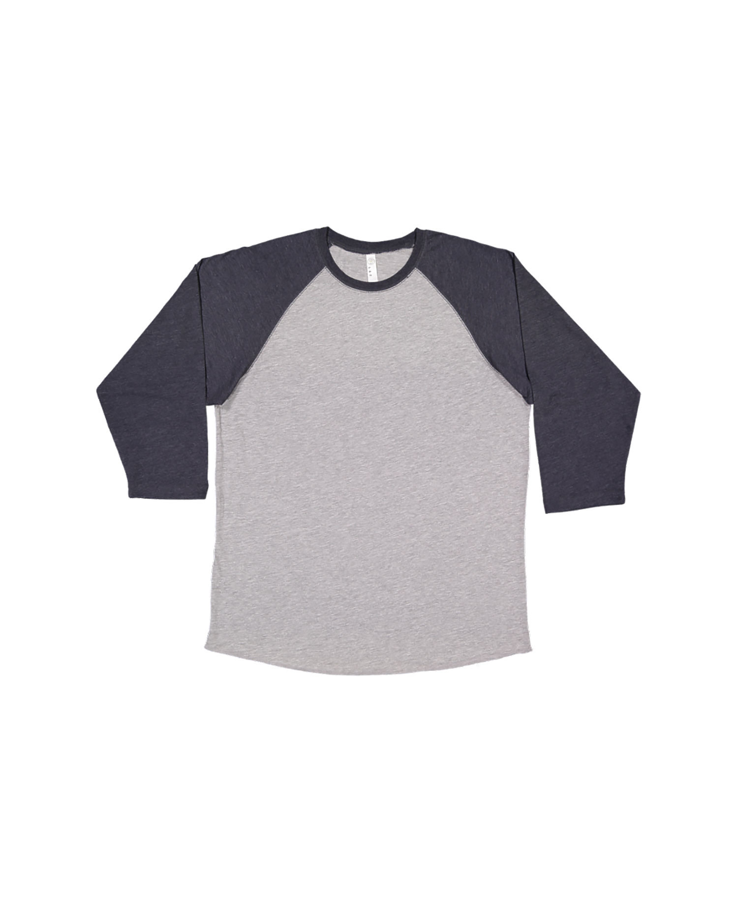 Lat 6930 Vintage Fine Jersey Three Quarter Sleeve Baseball T Shirt