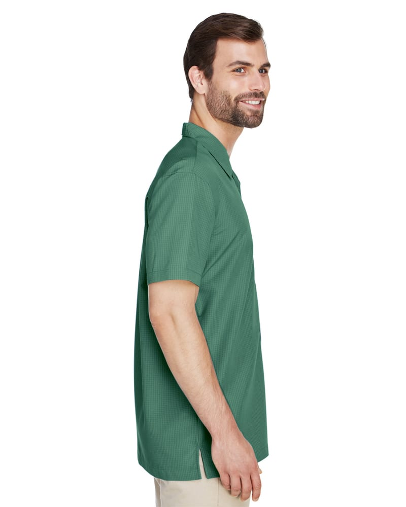 eda809a7a663d4 Harriton M560 - Men's Barbados Textured Camp Shirt | Needen USA