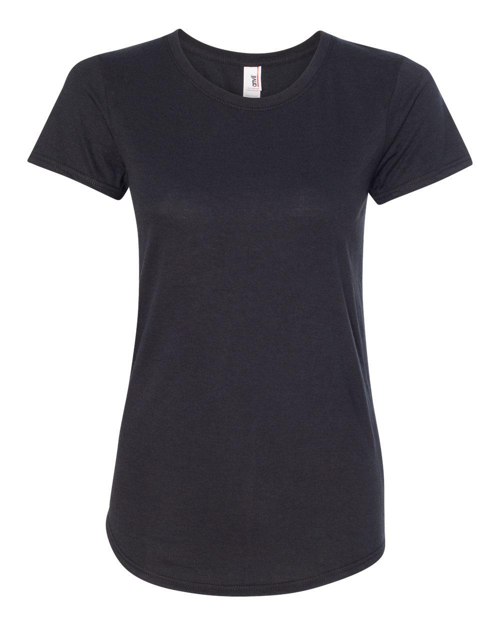 dbd05f3c2b7 Anvil 6750L - Women s Triblend Scoopneck T-Shirt