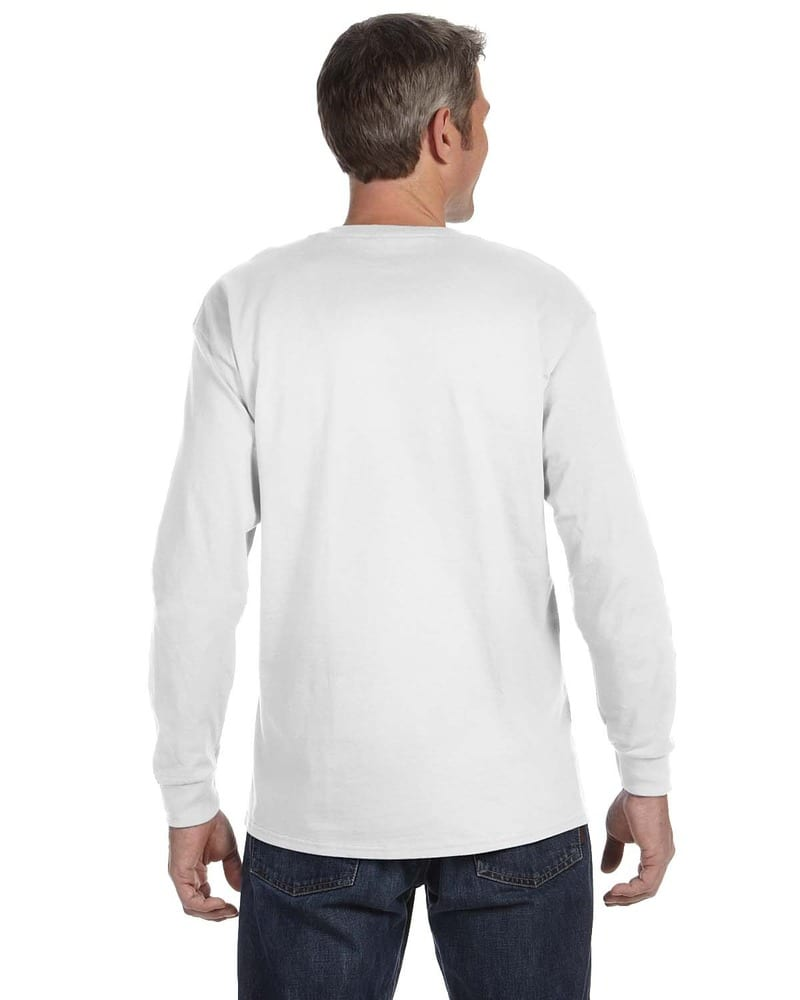 10f630a3 JERZEES 29LSR - Heavyweight Blend™ 50/50 Long Sleeve T-Shirt | Needen