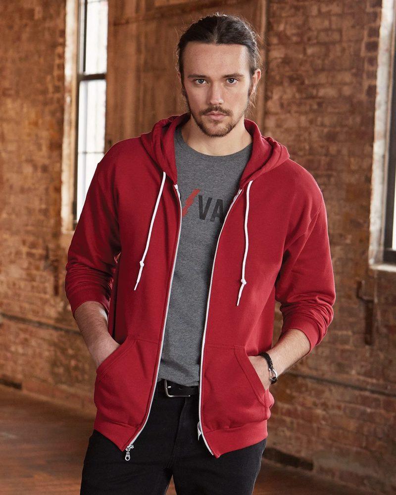 Anvil 71600 - Full-Zip Hooded Sweatshirt