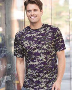 Badger 4180 - B-Core Digital Camo T-Shirt