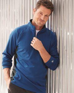 Champion S230 - Colorblocked Performance Quarter-Zip Pullover Sweatshirt