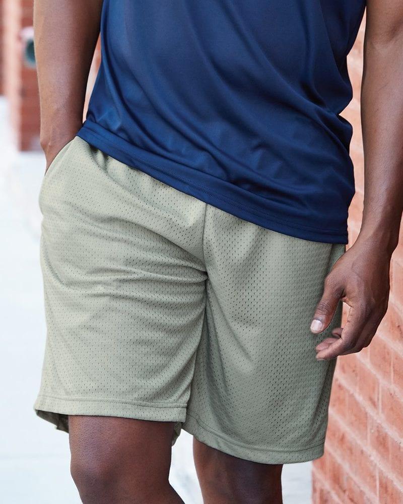 "Badger 7219 - 9"" Inseam Pro Mesh Pocketed Shorts"