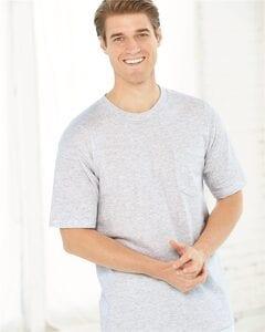 Bayside 7100 - USA-Made Short Sleeve T-Shirt with a Pocket