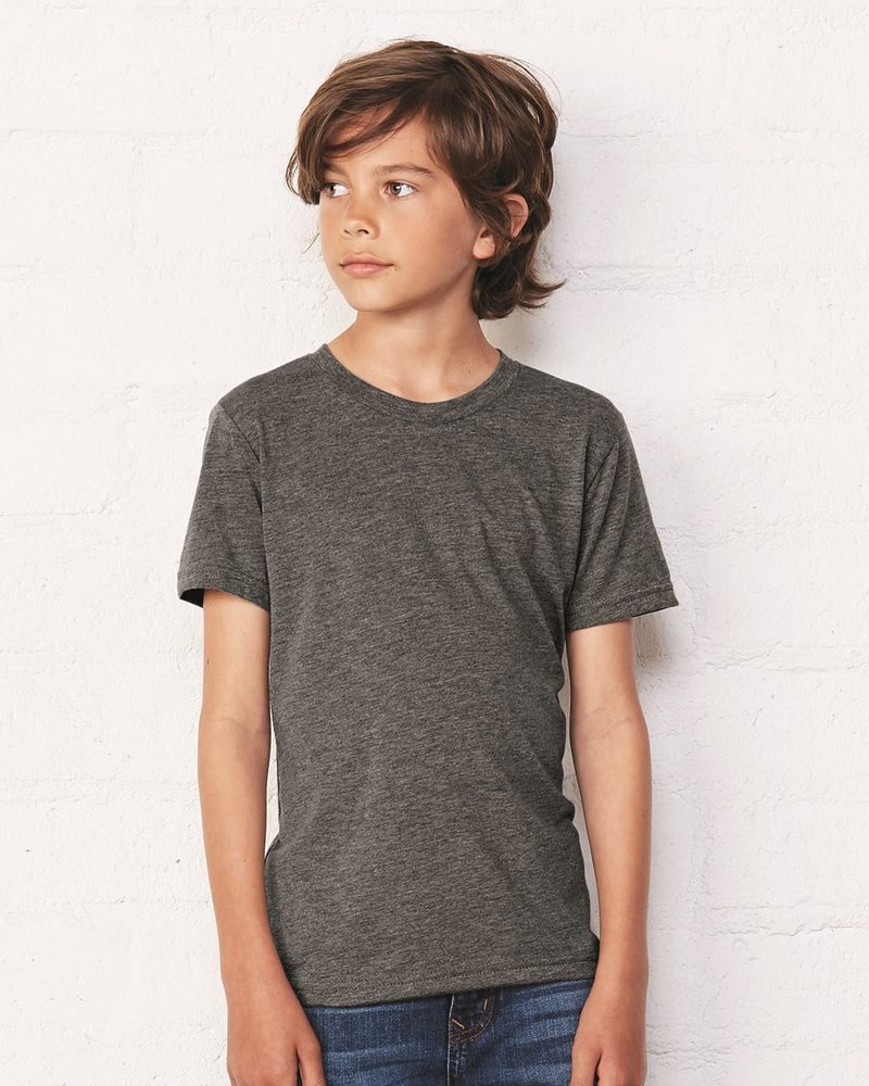 Bella+Canvas 3001Y - Youth Short Sleeve Crewneck Jersey T-Shirt