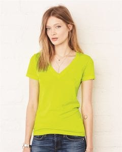 Bella+Canvas 6035 - Deep V-Neck Jersey T-Shirt