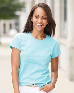 Fruit of the Loom SFJR - Ladies SofSpun Jersey Crewneck T-Shirt