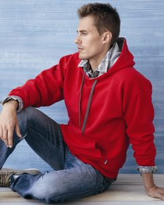 Gildan 185C00 - Heavy Blend™ Hooded Sweatshirt with Contrast Color Lining