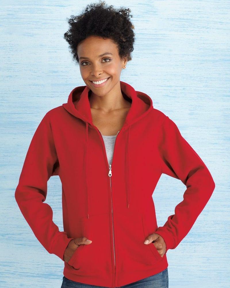 Gildan 18600FL - Heavy Blend™ Missy Fit Full-Zip Hooded Sweatshirt