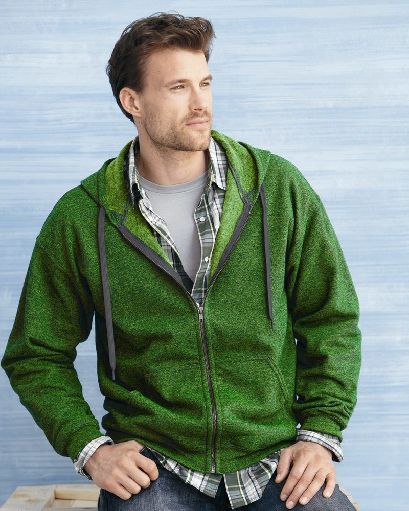 Gildan 18700 - Heavy Blend™ Vintage Classic Full-Zip Hooded Sweatshirt