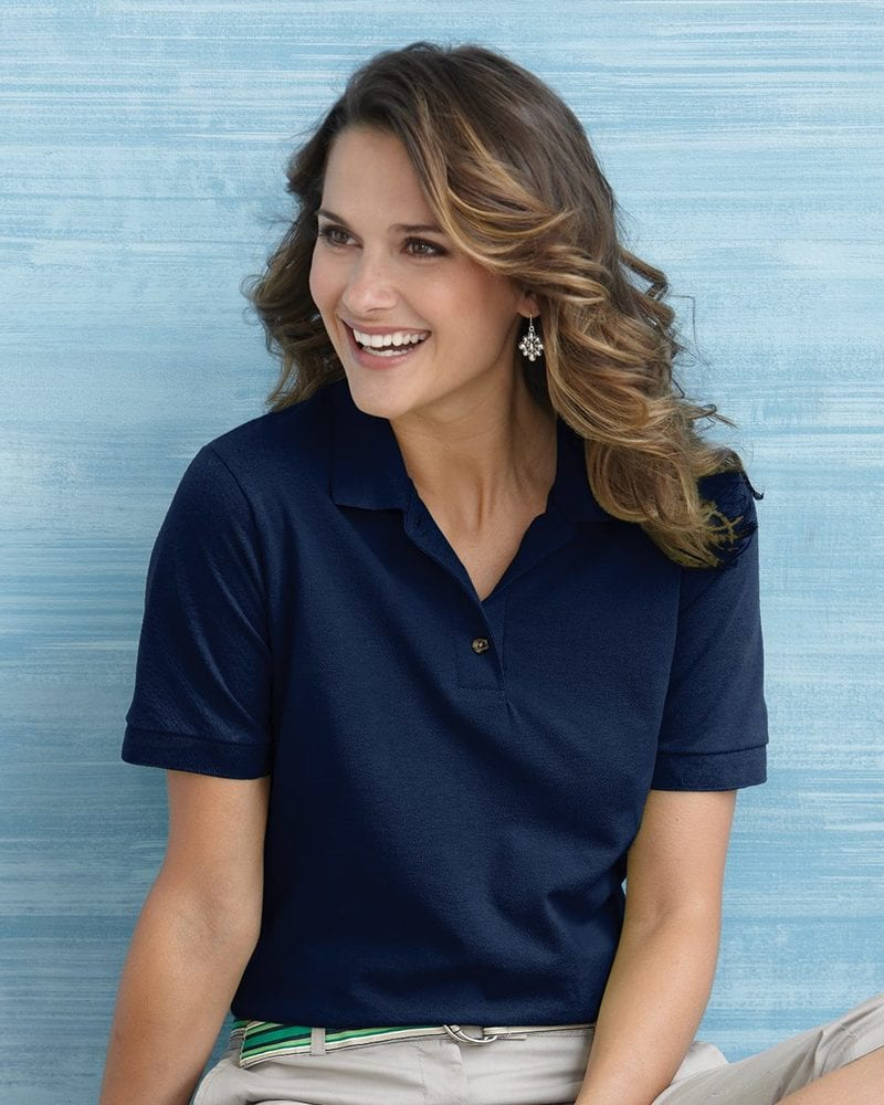 Gildan 3800L - Ladies' Ultra Cotton™ Pique Knit Sport Shirt