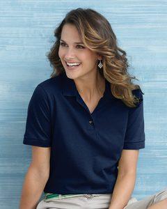 Gildan 3800L - Ladies Ultra Cotton™ Pique Knit Sport Shirt