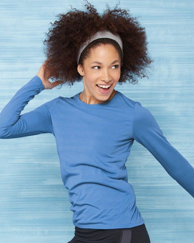 Gildan 42400L - Performance® Ladies' Long Sleeve T-Shirt