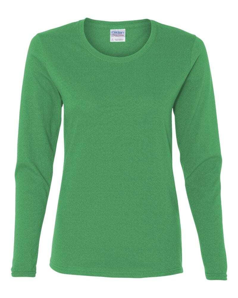 Gildan 5400L - Heavy Cotton Missy Fit Long Sleeve T-Shirt