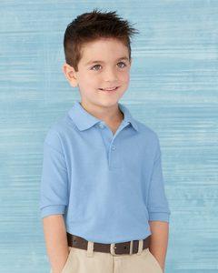 Gildan 72800B - Youth DryBlend Double Pique Sport Shirt
