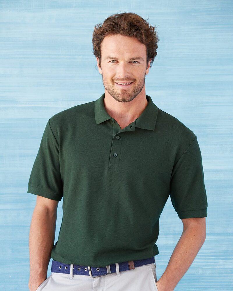 Gildan 82800 - Premium Cotton Double Pique Sport Shirt