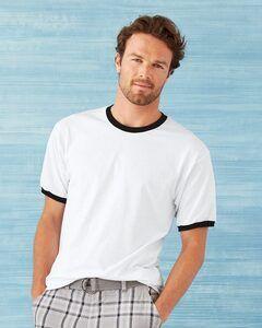 Gildan 8600 - DryBlend Ringer T-Shirt