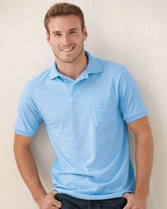 Hanes 0504 - Jersey Sport Shirt with a Pocket