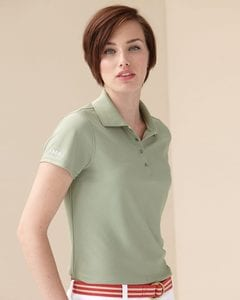 IZOD 13Z0081 - Ladies Performance Pique Sport Shirt with Snaps