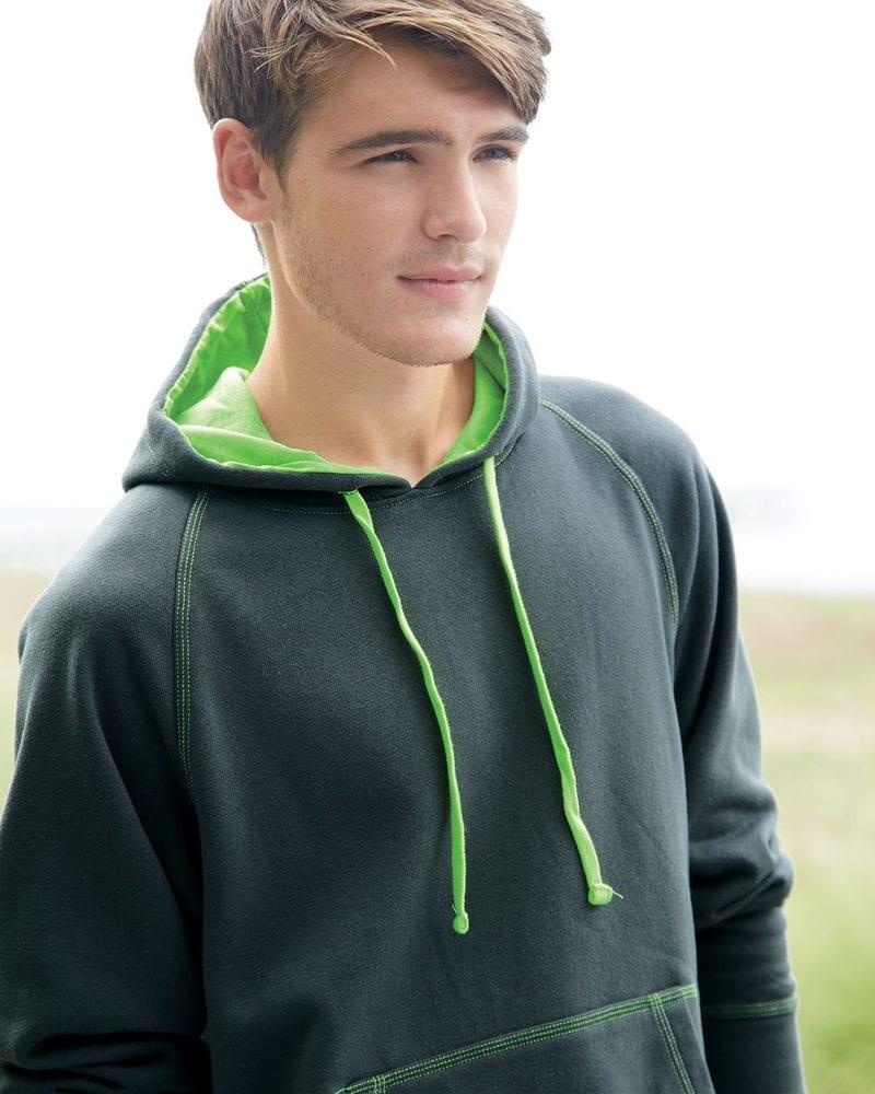 J. America 8883 - Shadow Fleece Hooded Pullover Sweatshirt