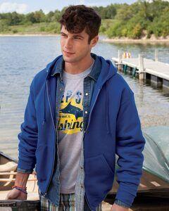 JERZEES 4999MR - NuBlend® SUPER SWEATS® Full-Zip Hooded Sweatshirt