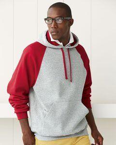 JERZEES 96CR - Nublend® Colorblocked Hooded Pullover Sweatshirt