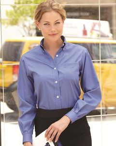 Van Heusen 13V0110 - Ladies Pinpoint Oxford Shirt