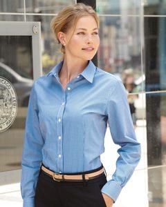 Van Heusen 13V0226 - Ladies Gingham Check Shirt