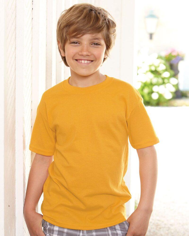 Hanes 5370 - Youth ComfortBlend® EcoSmart® T-Shirt