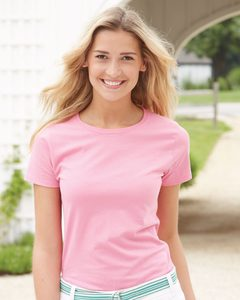 Hanes 5680 - Ladies ComfortSoft® Heavyweight T-Shirt