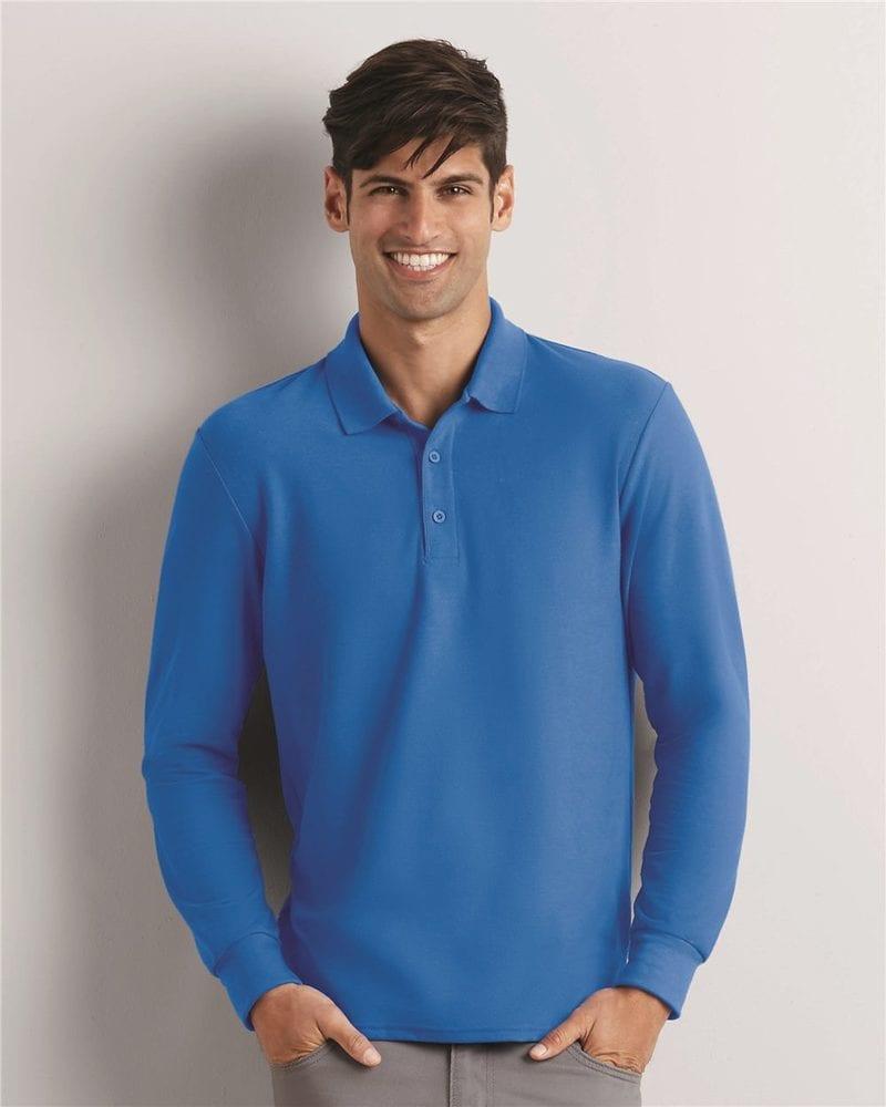 Gildan 72900 - DryBlend Double Pique Long Sleeve Sport Shirt