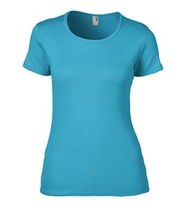 Anvil 1441 - Womens 1x1 Baby Rib Scoop Tee