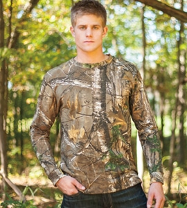 Browning 30170824 - Wasatch Long Sleeve Camo Tee