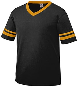 Augusta 360A - Adult Striped Sleeve Jersey