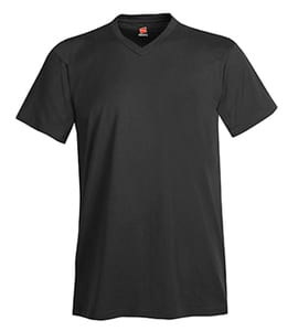 Hanes® Mens Nano-T® Cotton V-Neck T-Shirt