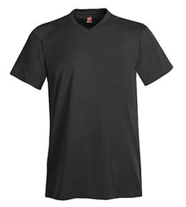 Hanes® Mens Nano-T® Cotton V-Neck T-Shirt