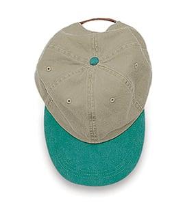 Adams LP102 - Optimum Khaki Crown Pigment Dyed Twill Cap