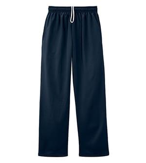 Jerzees PF974MP - Dri-Power Sport Adult Pocketed Open Bottom Sweatpant