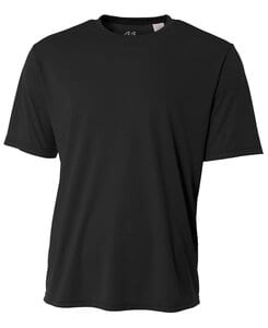 A4 N3142 - Youth Shorts Sleeve Cooling Performance Crew Shirt