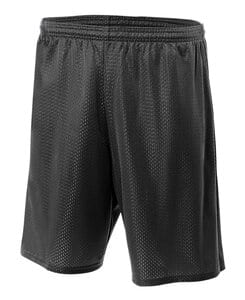 "A4 N5293 - Adult 7"" Inseam Lined Tricot Mesh Shorts"
