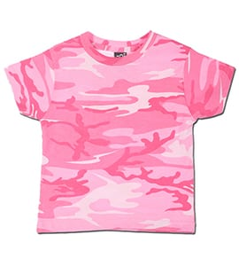 Code Five 3315 - TODDLER CAMOUFLAGE T-SHIRT